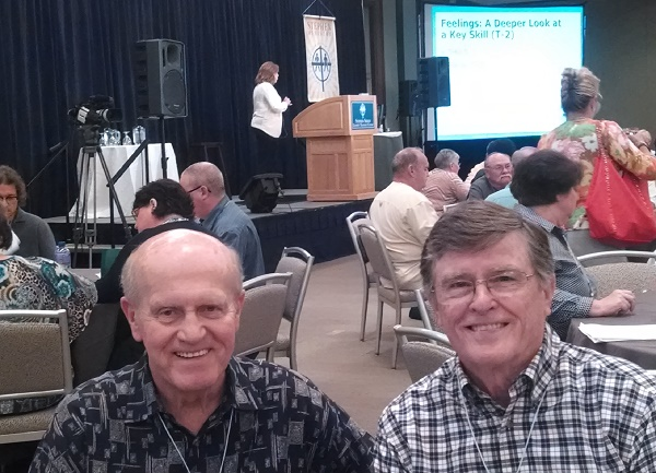 Ed Murray and Bert Duckett as 2014 Stephen Minister Leadership Training Course