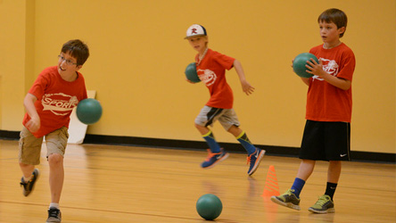 Holiday Dodgeball Camp