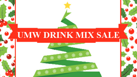 UMW Drink Mix Sale